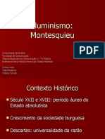 Iluminismo - Montesquieu (slides)