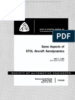 Aspects of STOL Aircraft