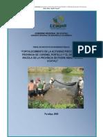 proyecto SNIP piscicultura en Ucayali
