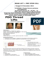 PDO Thread Lifts