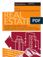2010 USC Law Real Estate Law and Business Forum