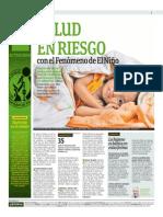 Salud en Riesgo Con El Fenómeno de El Niño