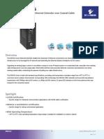 EtherWAN ED3341-00B Data Sheet