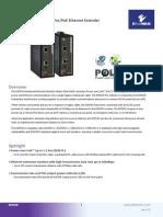 EtherWAN ED3538R Data Sheet