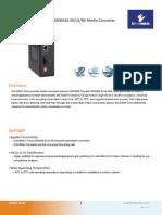 EtherWAN EL9000-A-N-1-A Data Sheet