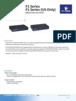 EtherWAN EX1605PB Data Sheet