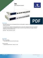 EtherWAN EX1608SFC2 Data Sheet