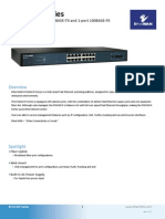 EtherWAN EX1616W Data Sheet