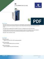 EtherWAN EX34080-00B Data Sheet