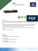 EtherWAN EX48050A-00B Data Sheet