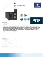 EtherWAN EX47080-00B Data Sheet