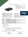 EtherWAN SE6304-00B Data Sheet