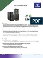 EtherWAN ED3638 Data Sheet