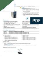 EtherWAN EX36180-00B Data Sheet