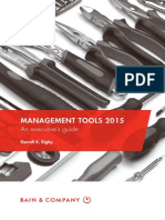 BAIN GUIDE Management Tools 2015 Executives Guide