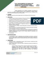 PRO 122 Procedimiento de Manejo de Residuos Para Externos REV 00