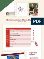 florida association of aice coordinators ppt