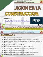 Introduccion Legislacion en la Construccion