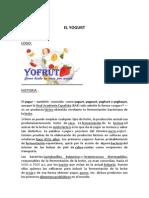 El Yogur - Análisis