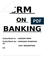 Crm on Banking