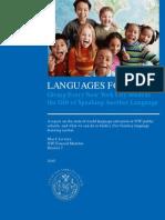 Council Member Mark Levine - Foreign Language White Paper