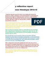 reflective report kriyanshi