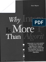 Wegner, Peter - Why Interactions is More Powerful Than Algorithims