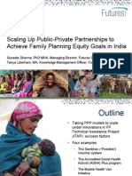 Scaling Up Public-Private Partnerships to Achieve Family Planning Equity Goals in India