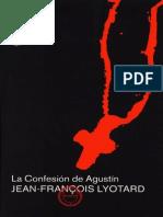 Lyotard - La Confesión de Agustín