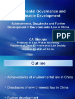 1 Cai Shouqiu Environmental Governance and Sustainable Development