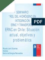 ERNC en Chile Situacion Actual