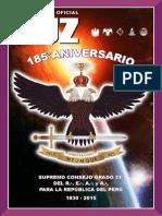 Revista Luz 2015 del Supremo Consejo Grado 33° - Perú