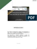 Evaluacion de Pavimentos