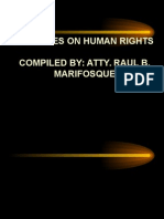 4 Lectures on Human Rights