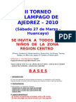 TORNEO RELAMPAGO 2010