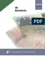 Informe Politica Monetaria 2014