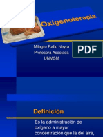 Oxigenoterapia UNMSM