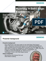 Sheet Metal in Solid Edge