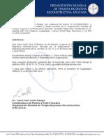 Carta Certificado