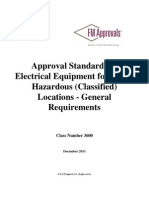 FM 3600 - 2011 Approval Standard for Electrical Equipment for Use in Hazadous Location