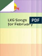 LKG Songs February