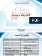 Formato Memoria de Labores 2015 Franja de Supervision 1210.1 Copia