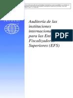 Normas Internacionales Para Entidades Fiscalizadoras