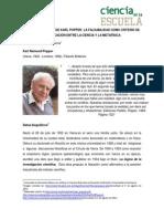 Karl Popper(Pensamiento)