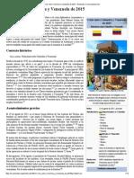 Crisis Entre Colombia y Venezuela de 2015
