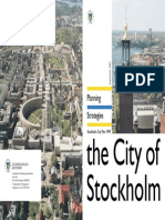 Planning Strategies City of Stockholm