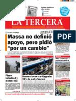 Diario La Tercera 29.10.2015