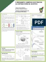 Cartel simulación molecular