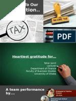 Final Tax Slide