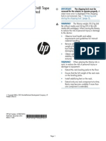 HP StoreEver MSL4048 Tape